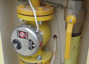 Zabezpieczenie sieci gazowej